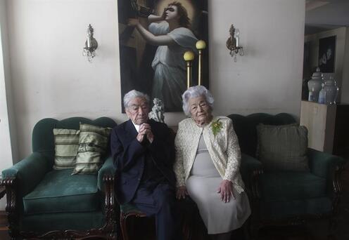 Ekvadorlu çift, yaşayan en yaşlı evliler olarak Guinness Rekorlar Kitabına girdi
