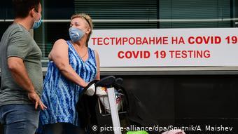 Russland Coronavirus