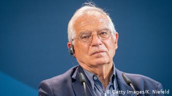 Deutschland Berlin | Treffen EU-Außenminister | Josep Borrell