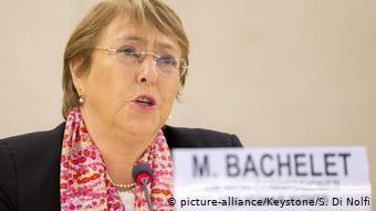 BM İnsan Hakları Yüksek Temsilcisi Michelle Bachelet