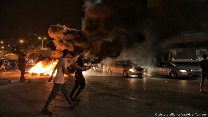 Protesto gösterilerine şiddet olayları da karışıyor