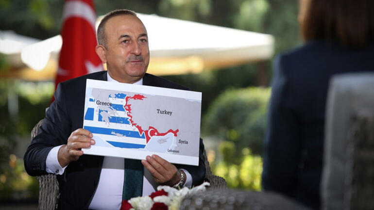 Son dakika haberler... Dışişleri Bakanı Çavuşoğlu: Sevilla haritasından vazgeçmezlerse bu gerginlik bitmez