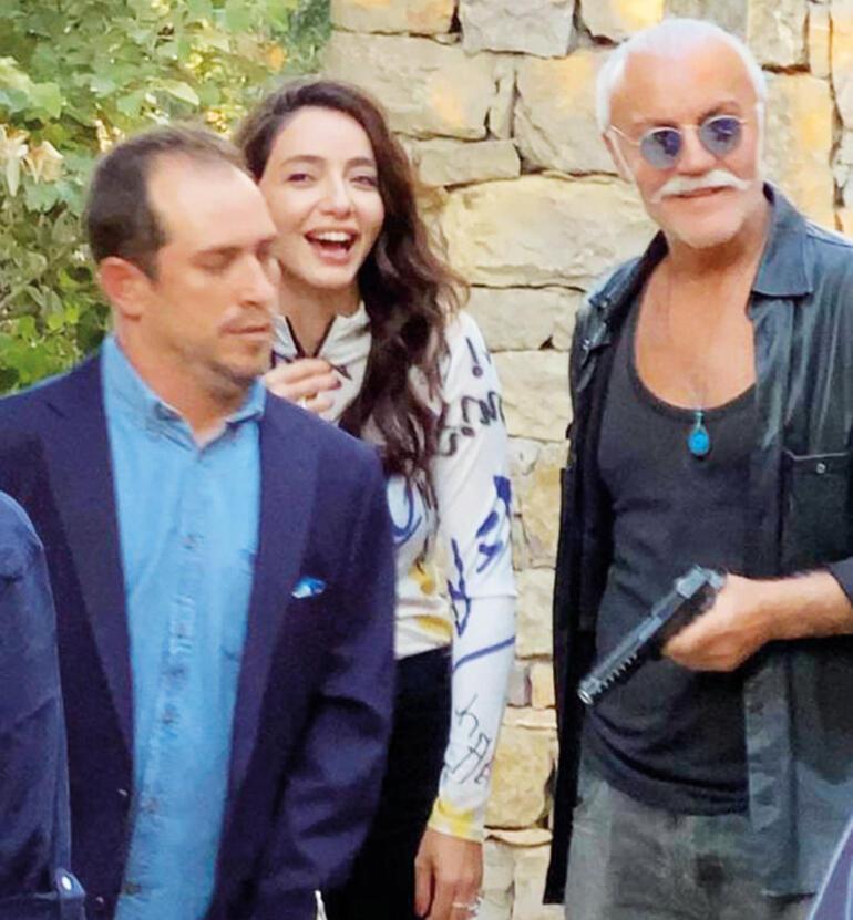 Öykü Gürman, İspanyol televizyon kanalına İstanbul'da röportaj verdi