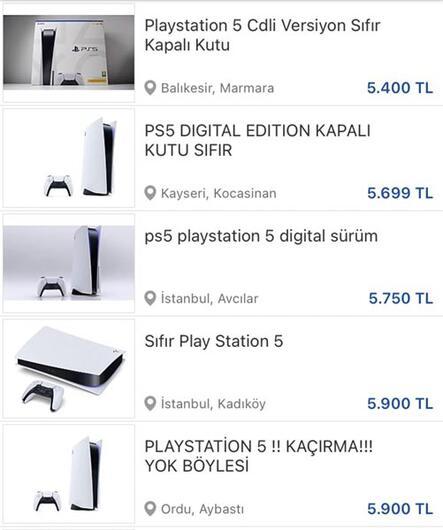 PlayStation karaborsaya düştü
