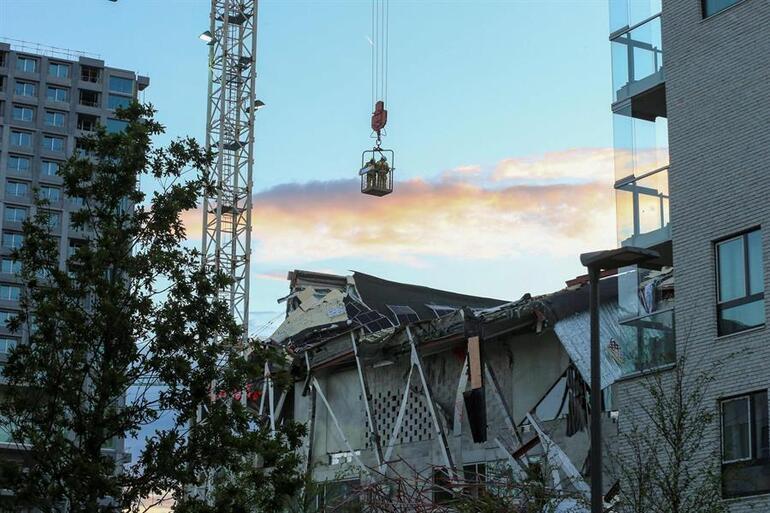 Belçikada okul inşaatı çöktü: 3 ölü