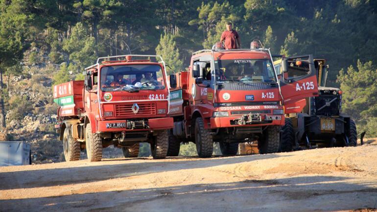 Son dakika haberi... Mersin Aydıncıktaki orman yangınında son durum Müdahale sürüyor...